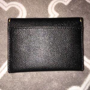 Coach Bags - NWT Coach black owl card wallet